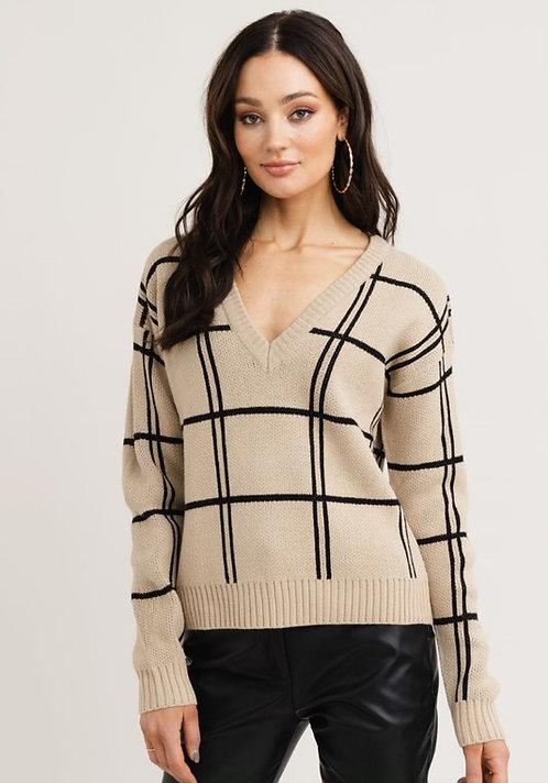 R&C Maja jacquet knit