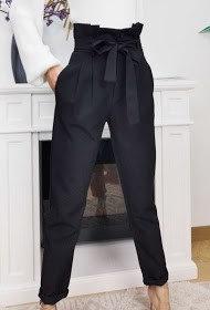 Instagirl hoge taille broek smalle pijp