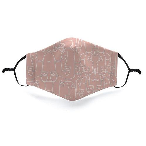 Fashion mask lot7-3 gezichtjes