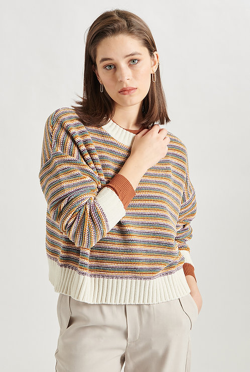 24colours pullover gestreept
