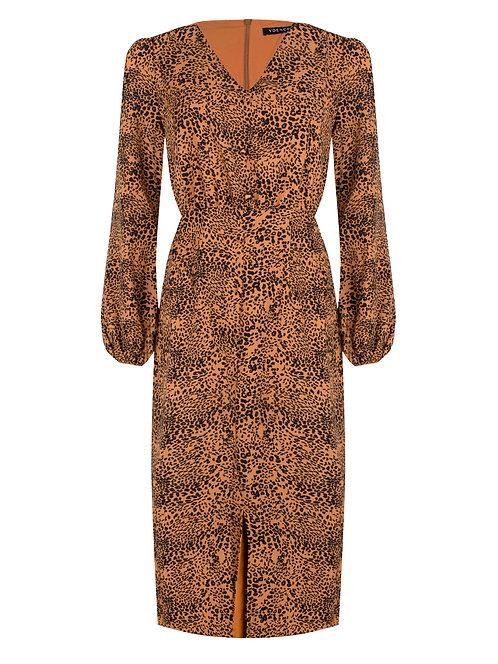 Ydence dress Lissa leopard