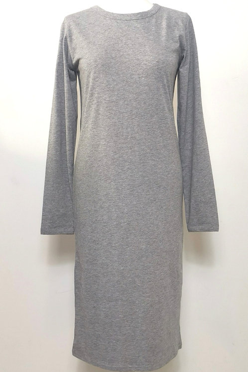 Organic long sleeve  t-shirt dress