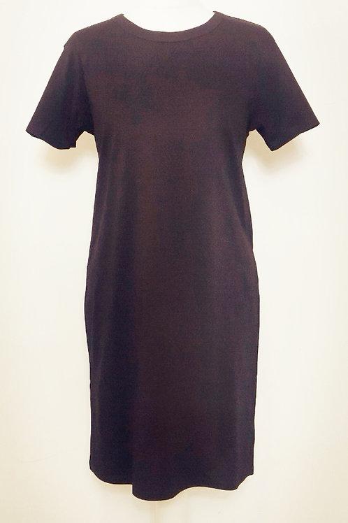 Organic short sleeve T-shirt dress