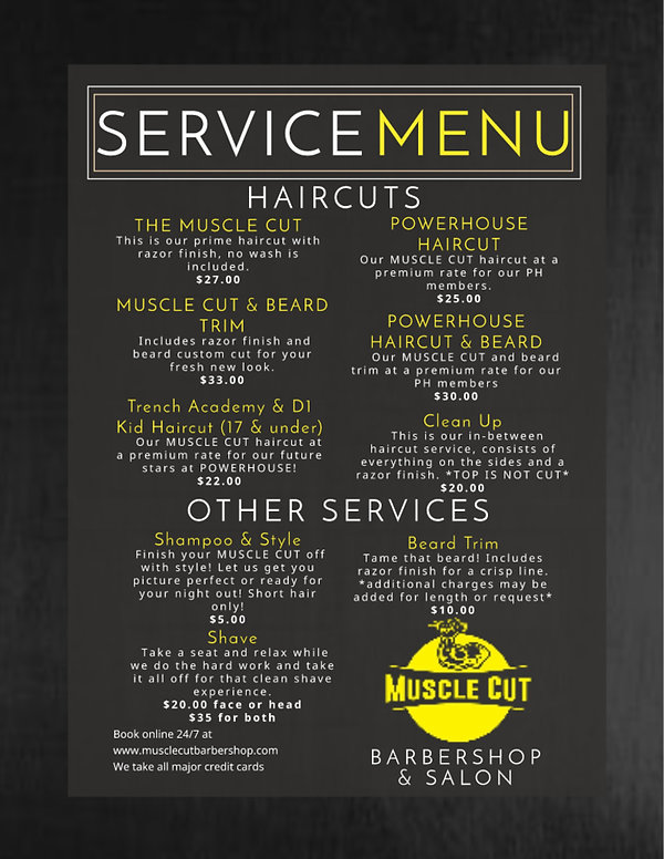 check out our new menu at our newest location