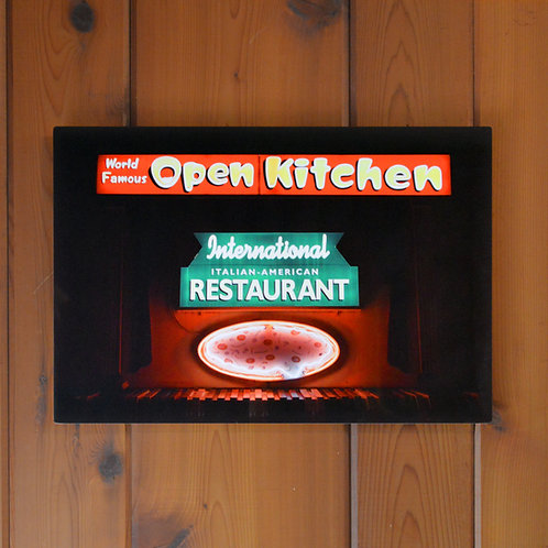 'Open Kitchen' Wall Metal Print