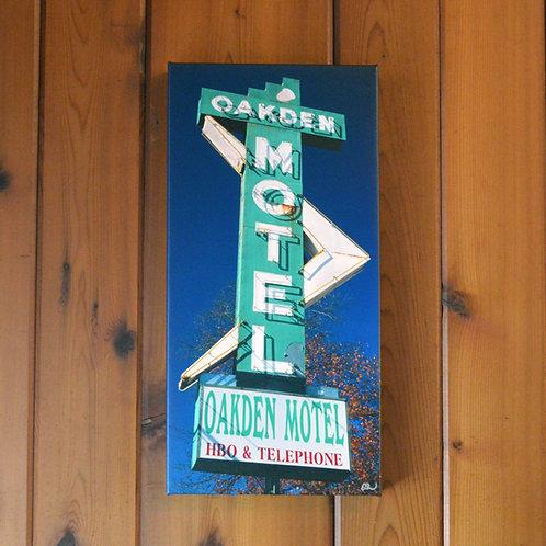 'Oakden Motel' Wall Canvas
