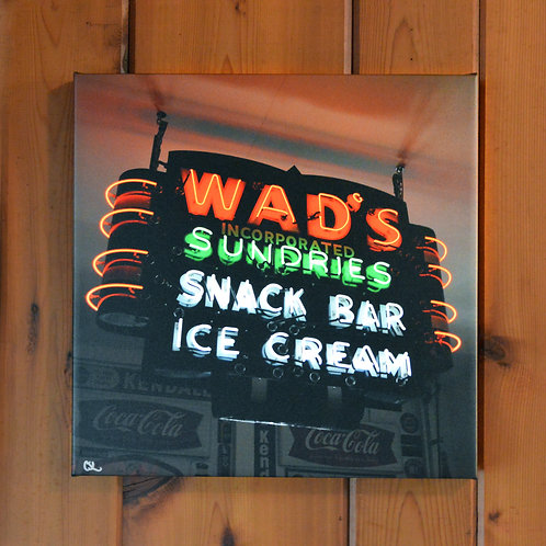 'Wad's Sundries' Wall Canvas