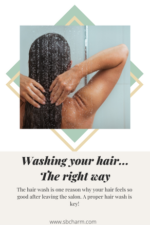 Washing your hair.. the right way.