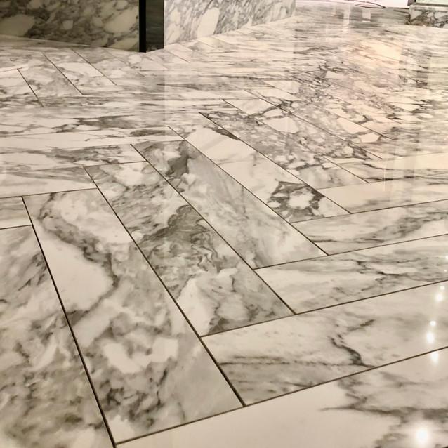 Herringbone tiling by lauzzo