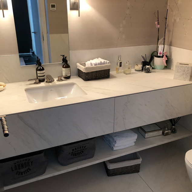 Tiled double Basin by Lauzzo