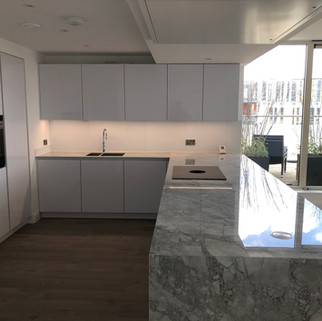 Lauzzo kitchen install