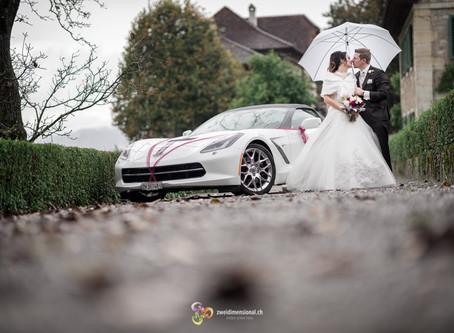 Hochzeitsfotoshooting auf dem Schloss Wildegg