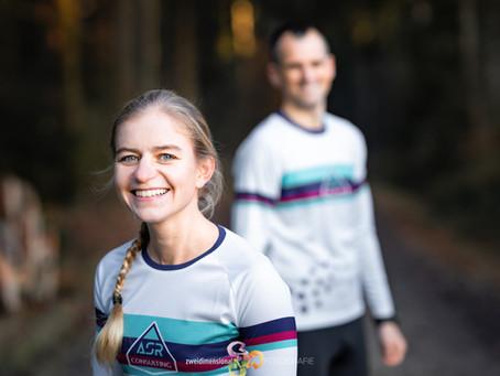 Lisa Berger, on the way to the Olympics, mit neuem Hauptsponsor.