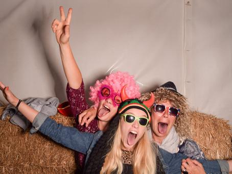 Fotobox DELUXE für ein Geburtstagsfest
