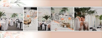 Beispiel Hochzeitsalbum Design
