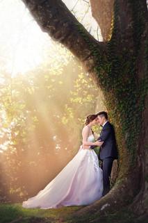 Hochzeit Sonennuntergang