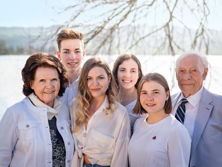 Familienfotoshooting am Sempachersee