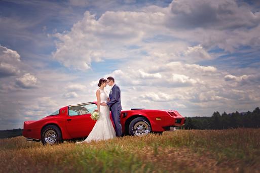Hochzeit mit Oldtimer