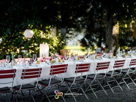 Hochzeitsfest Maria's Esszimmer (im Seetal)