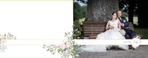Hochzeitsalbum Cover Bank
