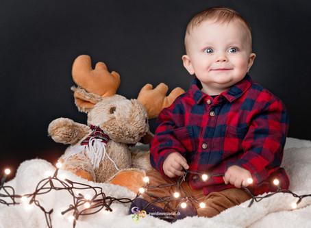 Familien Fotoshooting in der Weihnachtszeit