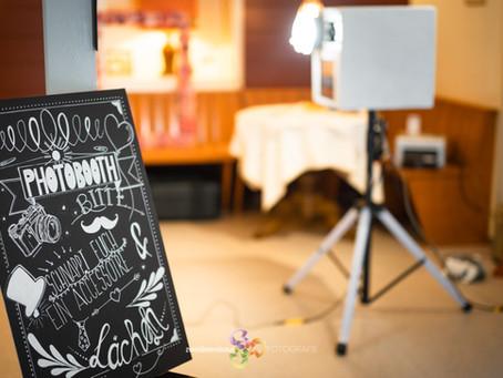 Fotobox DELUXE am Hochzeit auf dem EBERG
