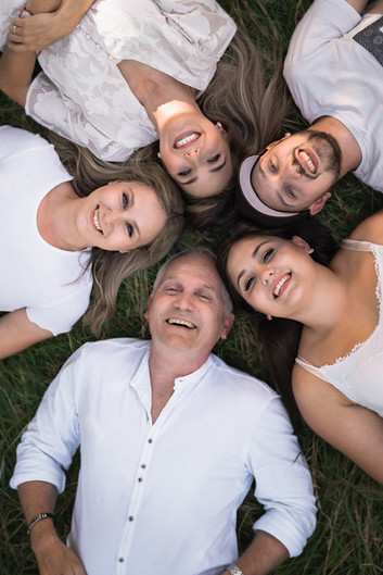 Vater mit Kinder