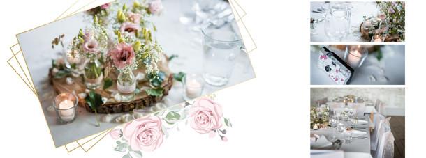 Beispiel Hochzeitsalbum Rosen