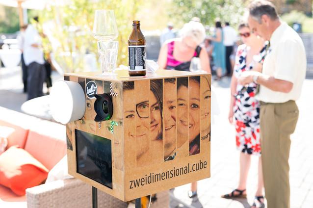 Fotobox als Getränkeständer ;-)