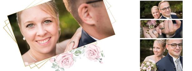 Hochzeitsalbum Seite