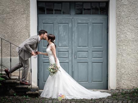 Hochzeitsfotoshooting in Bremgarten