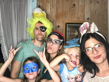 Fotobox an Familienfest. Fotobox SMART