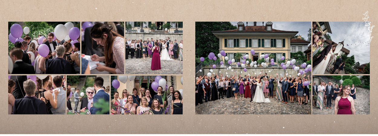 Beispiel Hochzeitsalbum Lenzburg