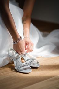 Braut Vorbereitung.