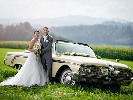 Hochzeits-Fotoshooting mitten im Grünen (Uerkheim)