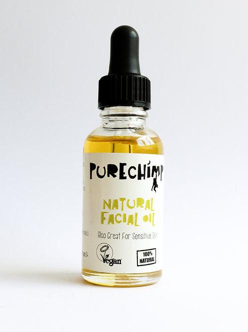 Natural Facial Oil - 100% Vegan