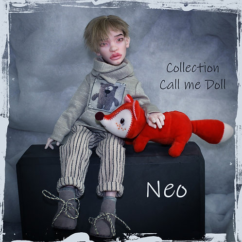 """Ball jointed boy Doll  NEO H - 29 cm / 11,4"""" /"""