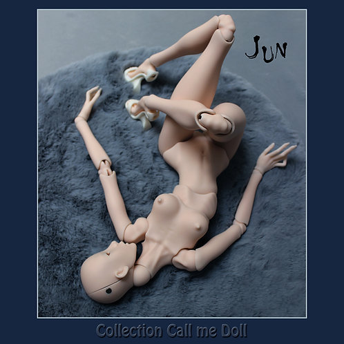 Fashion Ball jointed doll  skin color soft peach