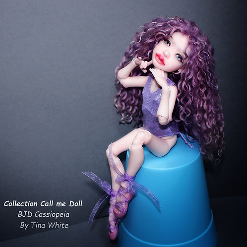 """Ball jointed Doll  Cassiopeia H - 26 cm / 10,2"""" /"""