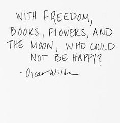 With Freedom...