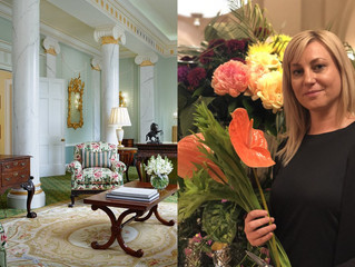 THE LONDON HOTEL WHERE FLOWERS PLAY A VERY IMPORTANT ROLE