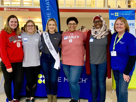 Miss Chicago Visits Fit Fair
