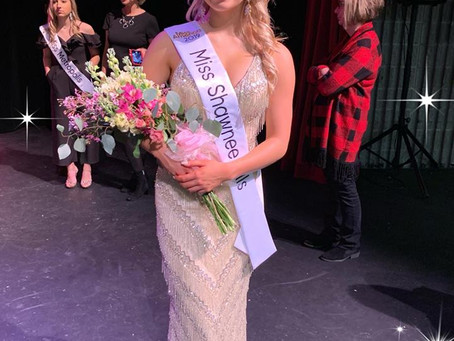 Welcome Morgan Hollon, Miss Shawnee Hills 2019