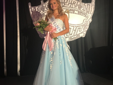 SHE WON!!! Miss Chicago's Outstanding Teen wins Miss Illinois' Outstanding Teen!!!