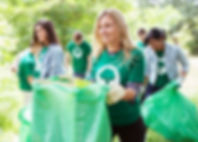 Picking Up Trash