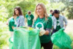 Catando lixo