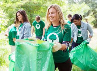 Plogging: Laufen und Müll sammeln in Anthering, am 28.09.2019