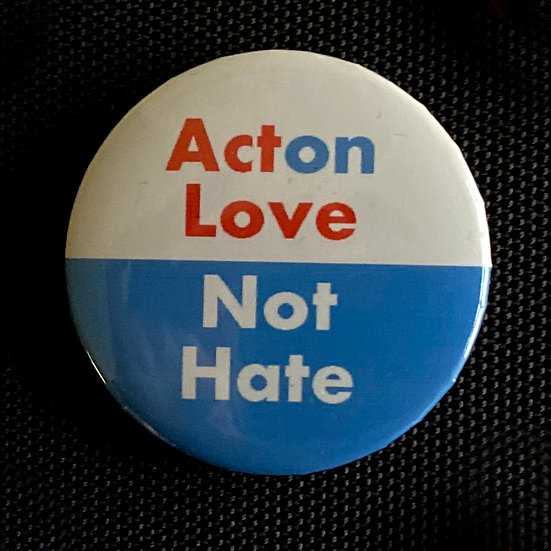 ActOn Love Not Hate 5 Button Set