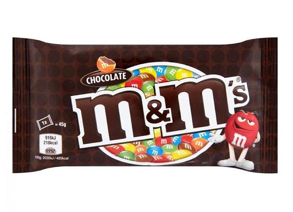 Free M&M's Chocolate