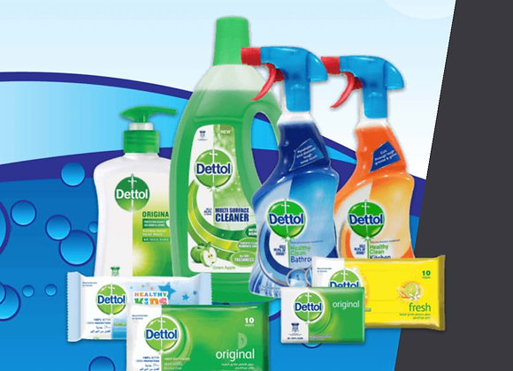 Win A Dettol Cleaning Set